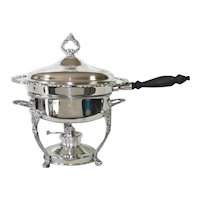 Oneida Sea Crest Silverplate Chafing Dish