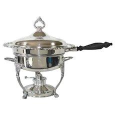 Oneida Sea Crest Silverplate Chafing Dish
