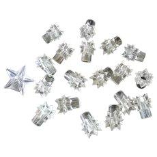 Starburst Lite Kaps Miniature Christmas Tree Light Reflectors
