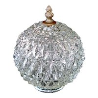 Regency Diamond Crystal Swag Lamp Light Fixture Shade, 2 Available