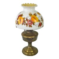 Aladdin Model 12 Bronze Finish Table Lamp With Shade