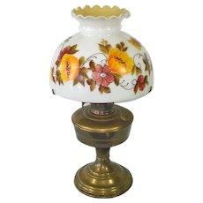 Aladdin Model 12 Bronze Finish Table Lamp With Shade