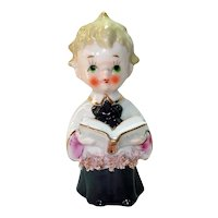 Enesco 1950s Ceramic Choir Boy Figurine