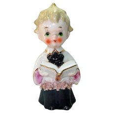 Enesco 1950s Ceramic Choir Boy Figurine