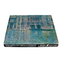 Monet Venice Palazzo Fine Art Springbok Jigsaw Puzzle