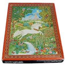 Song of the Unicorn 1982 Springbok Jigsaw Puzzle