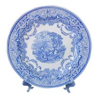 Spode Blue Room Continental Views Dinner Plate Mint