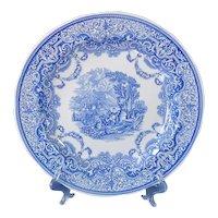 Spode Blue Room Continental Views Dinner Plate Mint