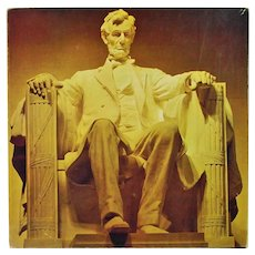 Lincoln Memorial 1975 Eaton Jigsaw Puzzle 500 Pieces