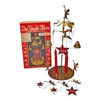 Jingle Abra Swedish Brass Christmas Angel Reindeer Candle Chimes