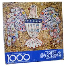 American Bicentennial Jewelry Collage Springbok Jigsaw Puzzle