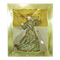 Koestel Christmas Angel With Candle Tree Topper in Box