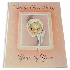 Baby's Own Story 1941 Birth Record Book Unused in Box