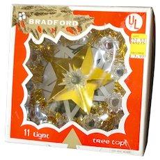 Bradford Mini Lighted Star Christmas Tree Topper in Box
