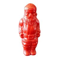 Irwin Miniature Celluloid Christmas Toy Santa Claus Figure
