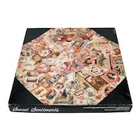 Sweet Sentiments Springbok Victorian Greeting Cards Jigsaw Puzzle