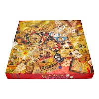 Games People Played Springbok Jigsaw Puzzle