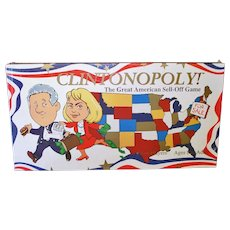 Clintonopoly 1995 Board Game Sealed Unused