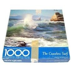 Ceaseless Surf 1000 Piece Springbok Jigsaw Puzzle