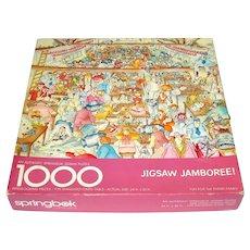 Jigsaw Jamboree Springbok 1000 Piece Puzzle