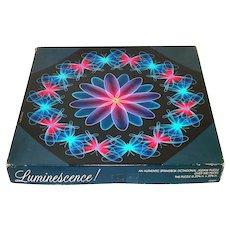 Luminescence Springbok 1984 Neon Op Art Jigsaw Puzzle