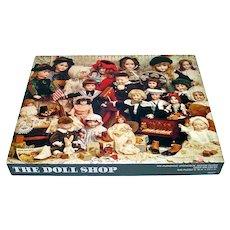 Doll Shop Springbok Jigsaw Puzzle Antique Dolls Complete