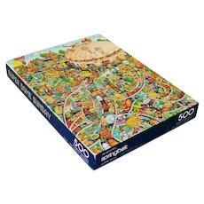 Super Dome Sunday Springbok Jigsaw Puzzle Complete