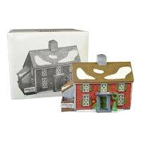Shingle Creek Dept 56 Christmas Village House In Box