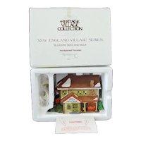 Bluebird Seed Bulb Dept 56 Christmas Village House Mint In Box