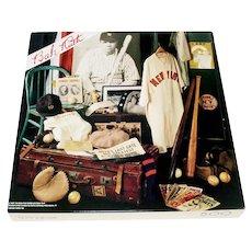 The Babe Springbok Jigsaw Puzzle Baseball Memorabilia