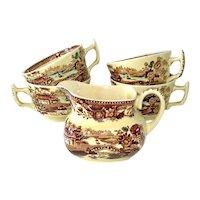 Alfred Meakin Multicolor Tonquin Creamer, 4 Cups