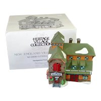 McGrebe Cutters Sleighs Dept 56 Christmas Village House