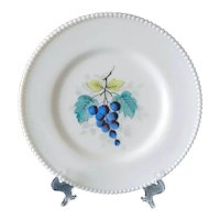 Westmoreland Grapes Beaded Edge Dinner Plate