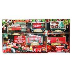 North Pole Express Christmas Train Set Mint
