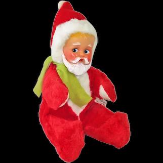 1955 Knickerbocker Stuffed Plush Baby Santa Claus Doll Christmas