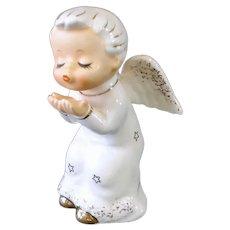 Norcrest Angel Blowing A Kiss Salt Shaker Figurine