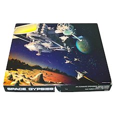 Space Gypsies 1983 Springbok Puzzle Complete