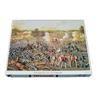 Battle of Gettysburg Springbok Jigsaw Puzzle Complete
