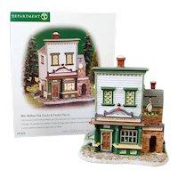 Walton Clocks Dept 56 Christmas Village House