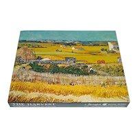 Harvest Van Gogh 1970 Springbok Jigsaw Puzzle Complete