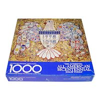 American Bicentennial Jewelry Collage Springbok Jigsaw Puzzle