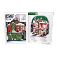 Dept 56 Christmas City Village Molly O'Briens Pub Building