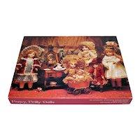 Fancy Frilly Antique Dolls Springbok Jigsaw Puzzle