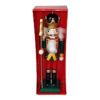 Wood Nutcracker Soldier Christmas Figure