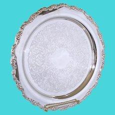Oneida Silverplate Royal Provincial 15 Inch Round Tray