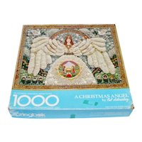 Christmas Angel Jewelry Collage Springbok Puzzle Schneeberg
