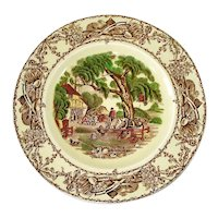 Rural Scenes Salad Plate Wilkinson Royal Staffordshire 7 Available
