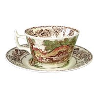 Rural Scenes Cup Saucer Wilkinson Royal Staffordshire 3 Available