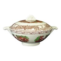 Rural Scenes Covered Tureen Wilkinson Royal Staffordshire