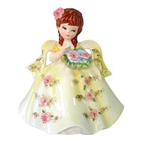 Lefton Marika's Originals Flower Girl Figurine